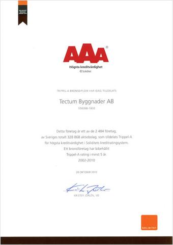 AAA-diplom, 2010