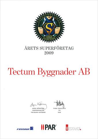 Årets Superföretag, 2009