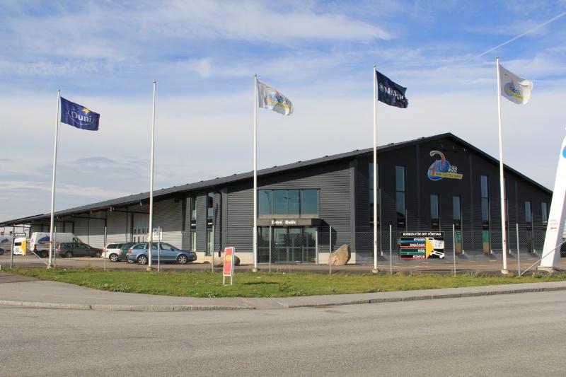 Butikshall, Lund