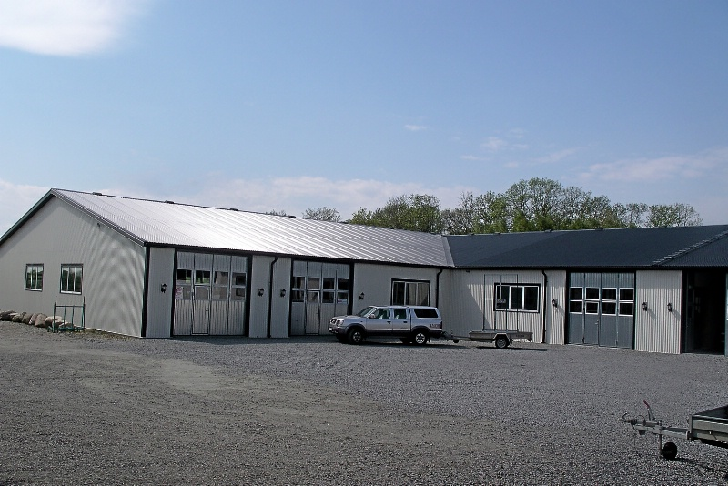 Industrihall, Skurup