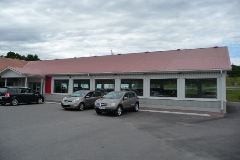 Butikshall, Mjölby