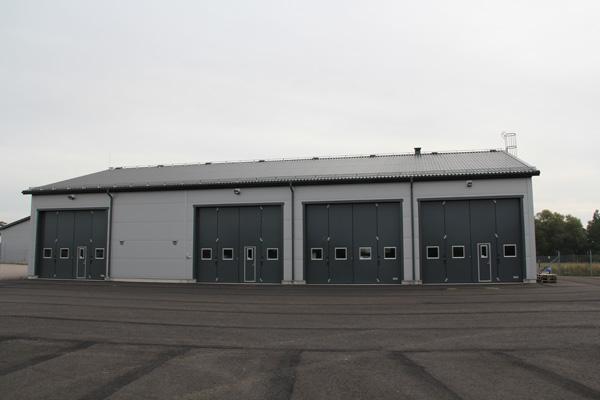Industrihall, Hörby