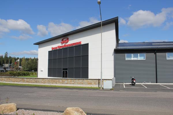 Industrihall, Vetlanda