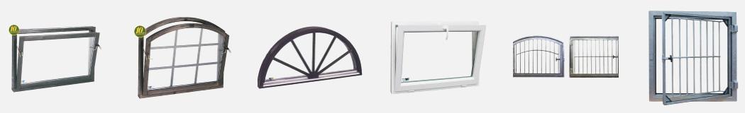 Exempel på fönster till ridhus/stall